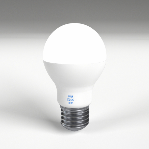 LED - Fluorescent light bulb lamp 2 - 3DOcean Item for Sale