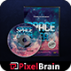 Space Dream DVD Album Artwork Vol. 3 - GraphicRiver Item for Sale