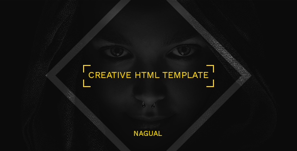 Nagual – Creative Personal/Agency Portfolio HTML Template