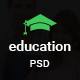 Education - Learning Bootstrap PSD Template Nulled