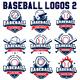 Vector Editable Baseball Logos 2 - GraphicRiver Item for Sale