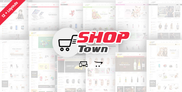 Shop Town – Multipurpose OpenCart Theme