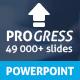 Progress Powerpoint Presentation Template - GraphicRiver Item for Sale