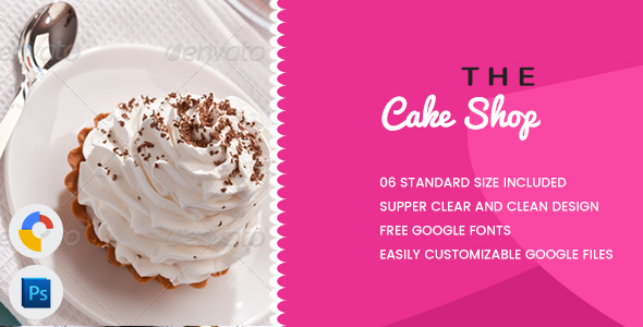 Cake Banners HTML5 - GWD - CodeCanyon Item for Sale