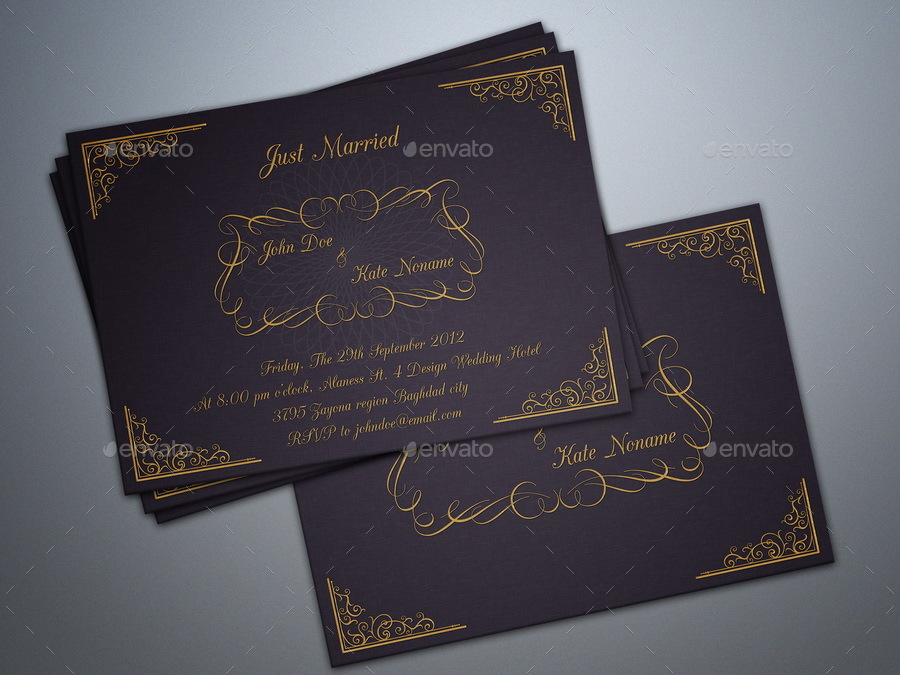 Wedding Invitation Card Vol.3