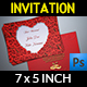 Wedding Invitation Vol.5 - GraphicRiver Item for Sale