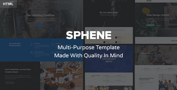 Sphene – Multi-Purpose HTML Template