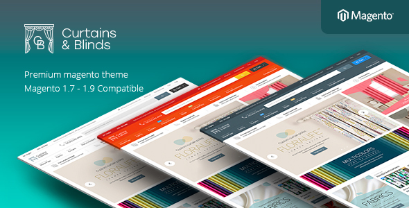 Curtains - Responsive Magento Theme