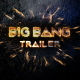 Big Bang Trailer - VideoHive Item for Sale