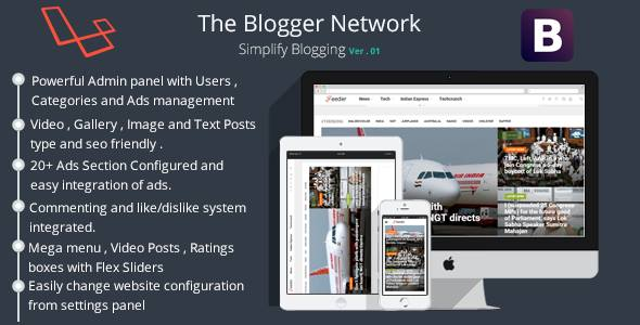 Blogify-The Blog Manager - CodeCanyon Item for Sale