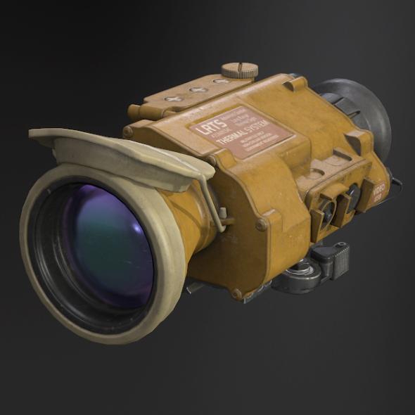 Desert Tan Weapon Thermal Sight - 3DOcean Item for Sale