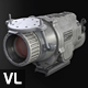 Gray Weapon Thermal Sight - 3DOcean Item for Sale
