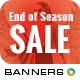 End of Season Sale Banners - GraphicRiver Item for Sale