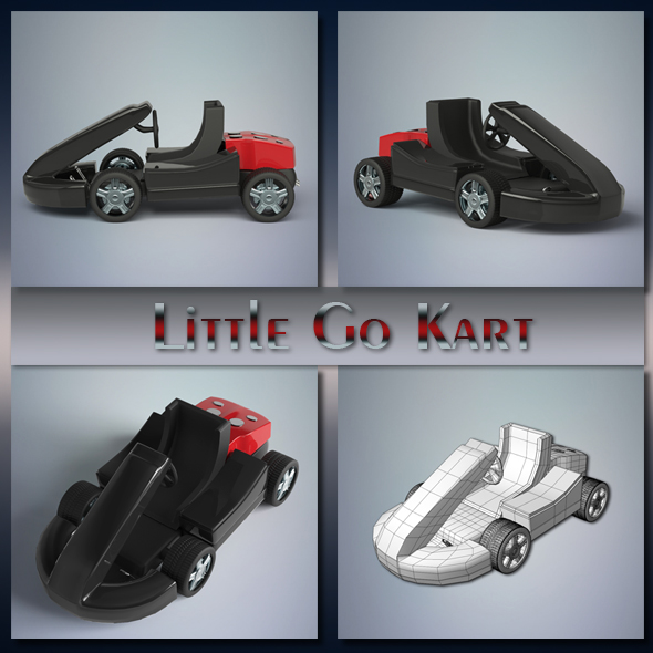 Little Go Kart - 3DOcean Item for Sale