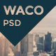Waco — Multipurpose Portfolio & Blog | Store PSD Template - ThemeForest Item for Sale