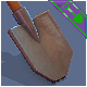 Game ready Shovel - 3DOcean Item for Sale