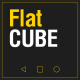 Flat Cube - VideoHive Item for Sale