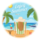 Vacation and Summer Card Concept - GraphicRiver Item for Sale