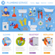 Plumbing Service Infographics - GraphicRiver Item for Sale