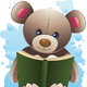 Teddy Bear with Book - GraphicRiver Item for Sale