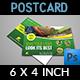 Garden Services Postcard Template Vol.2 - GraphicRiver Item for Sale