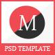 Menda - Multipurpose E-Commerce & Blog PSD Template - ThemeForest Item for Sale