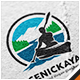 Scenic Kayak Logo - GraphicRiver Item for Sale