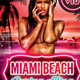 Miami Spring Fling Template - GraphicRiver Item for Sale