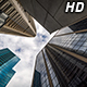 Clouds over City Skyscrapers - VideoHive Item for Sale