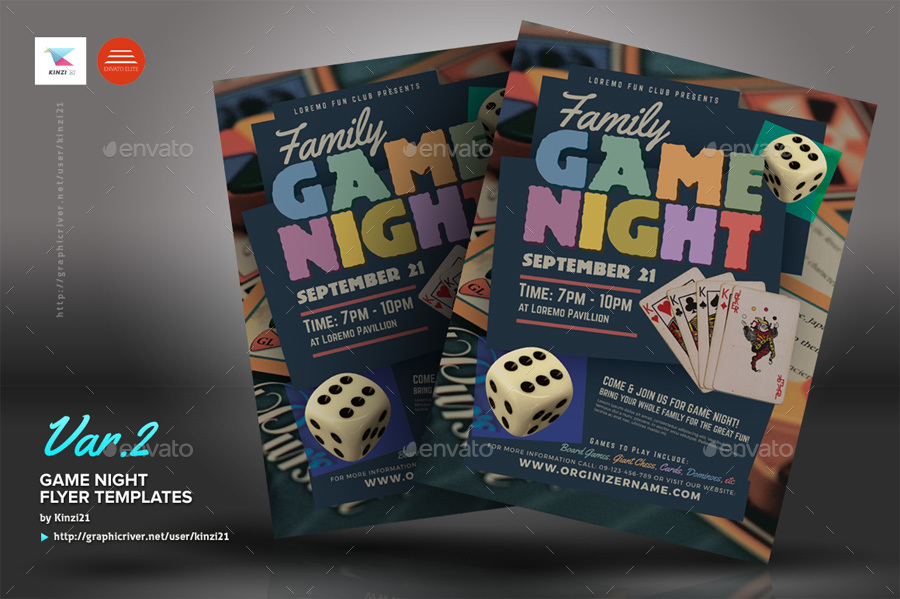game night flyer template - Acur.lunamedia.co
