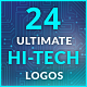 Ultimate Hi-Tech Logo Generator - VideoHive Item for Sale