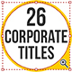 26 Corporate Titles - VideoHive Item for Sale