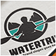 Water Trip Kayak Logo - GraphicRiver Item for Sale