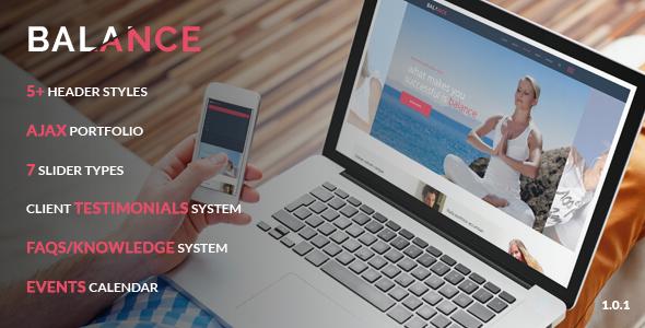 Balance – Multipurpose Joomla Template