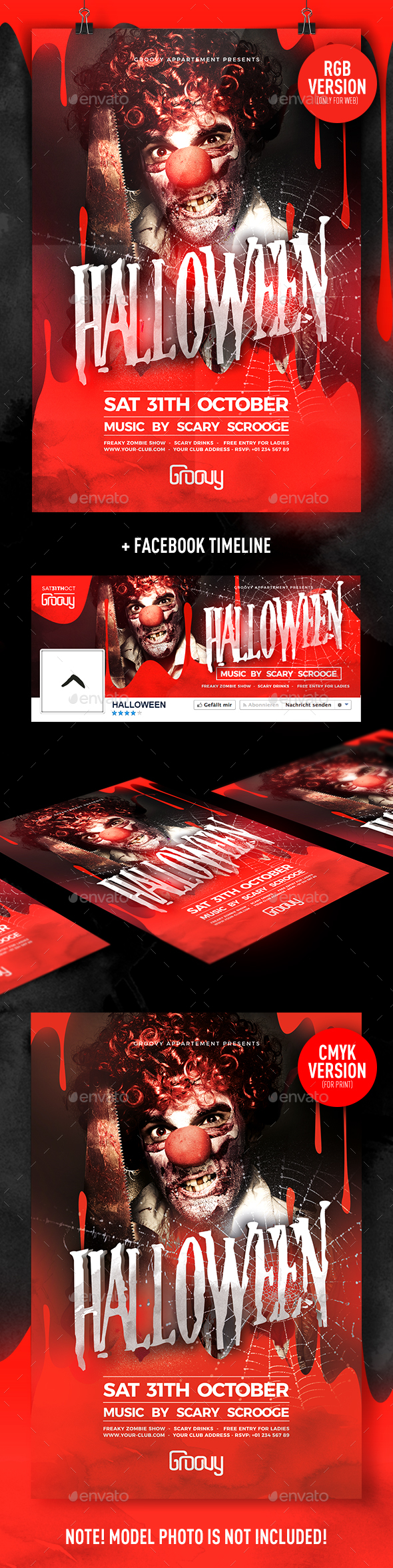 Halloween V2 Flyer