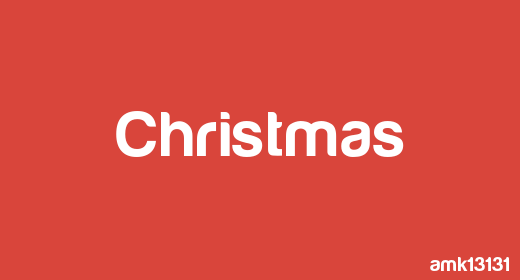 Logos and Idents for christmas and new year projects