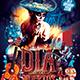 Dia De Los Muertos Party Flyer - GraphicRiver Item for Sale