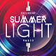 Summer Light Party | Flyer Template - GraphicRiver Item for Sale