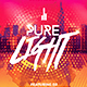 Pure Light Party | Flyer Template - GraphicRiver Item for Sale