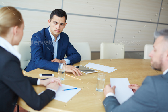 Brainstorming colleagues - Stock Photo - Images