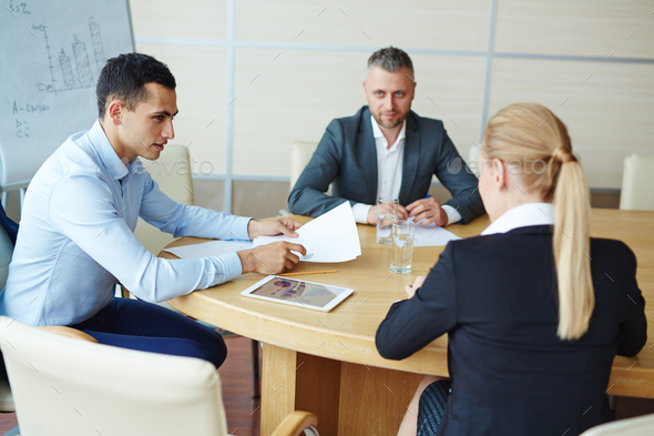 Training in meeting room - Stock Photo - Images
