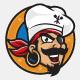 Pirates Kitchen Logo Mascot - GraphicRiver Item for Sale