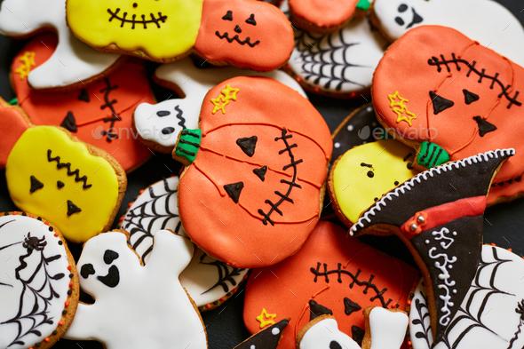 Halloween dessert - Stock Photo - Images