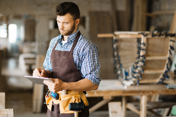 Handyman at work - Stock Photo - Images