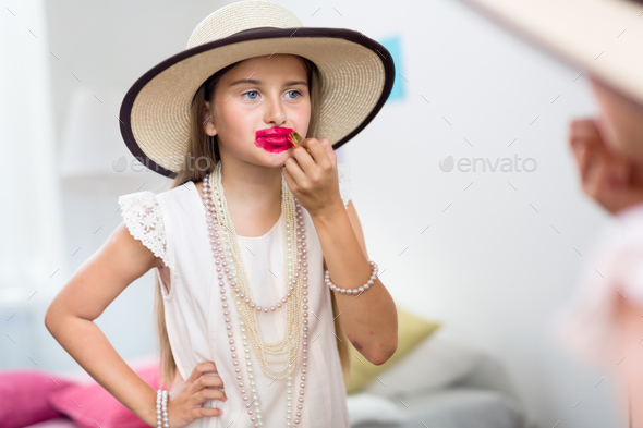Elegant and funny - Stock Photo - Images