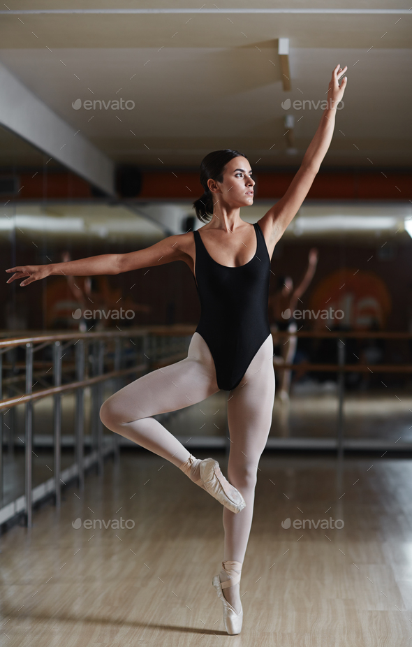 Exercising ballet - Stock Photo - Images