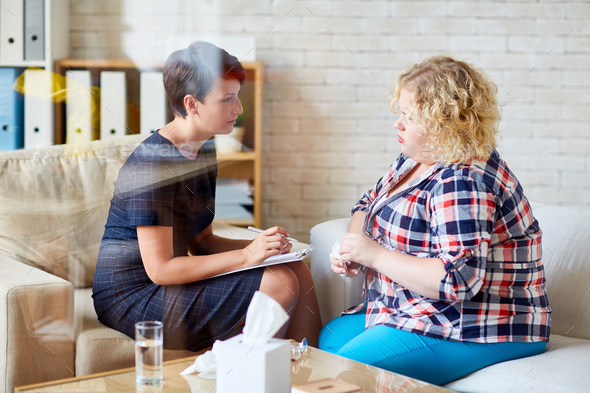 Psychological assistance - Stock Photo - Images