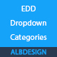 Easy Digital Downloads EDD categories dropdown - CodeCanyon Item for Sale