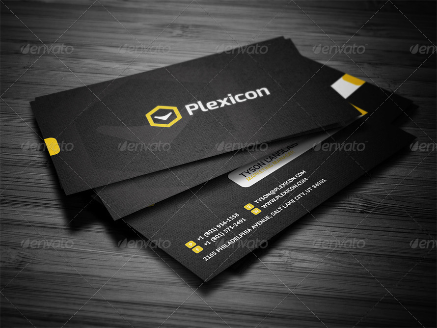 Stylish Business Card by FlowPixels | GraphicRiver