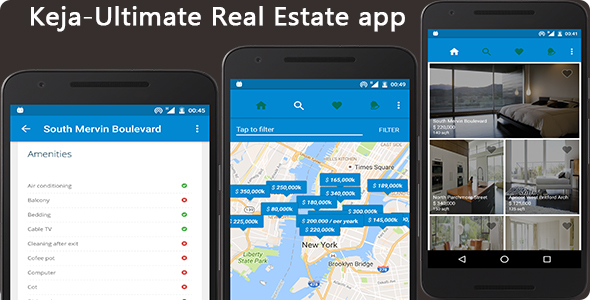 Keja - Real Estate App - CodeCanyon Item for Sale